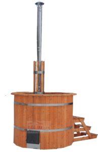 Купель с дровяной печью